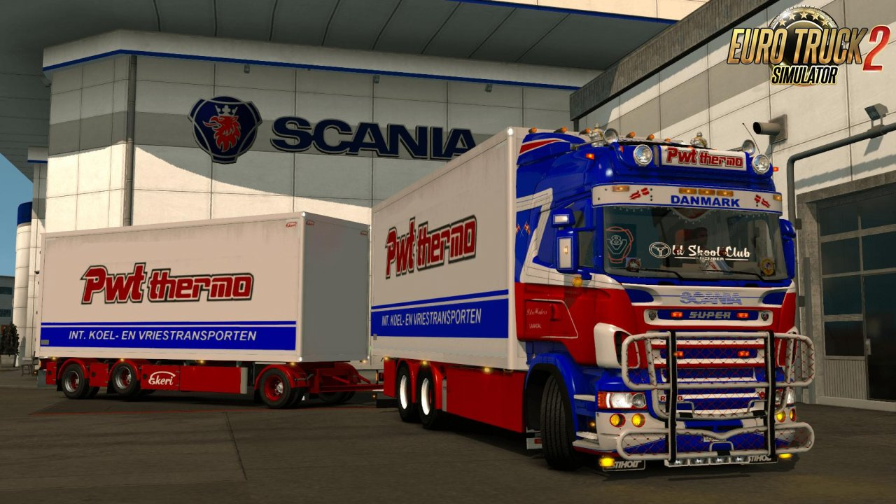 Skin Scania PWT Thermo 5s Tandem + Trailer +Lightbox v1.0