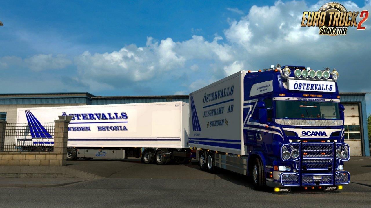 Ostervalls Scania 5 Series Tandem Combo v1.0
