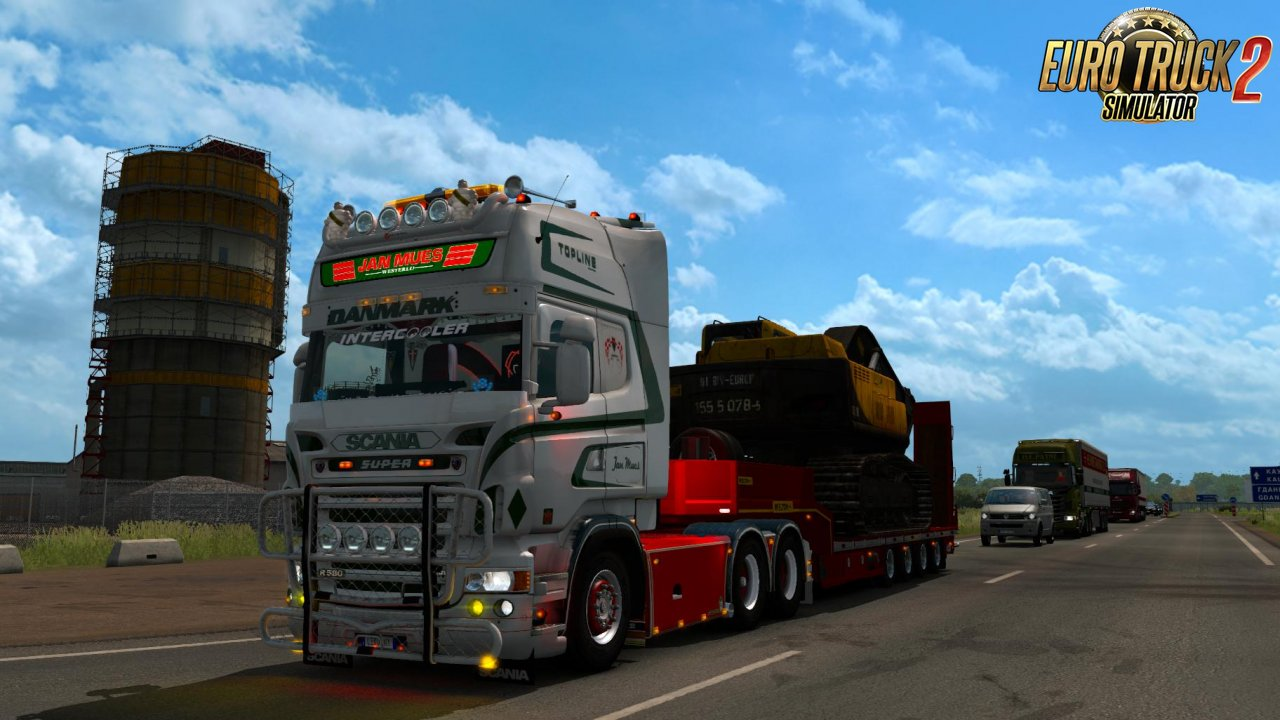 Scania Skin Jan Mues for RJL 5 Series v1.0