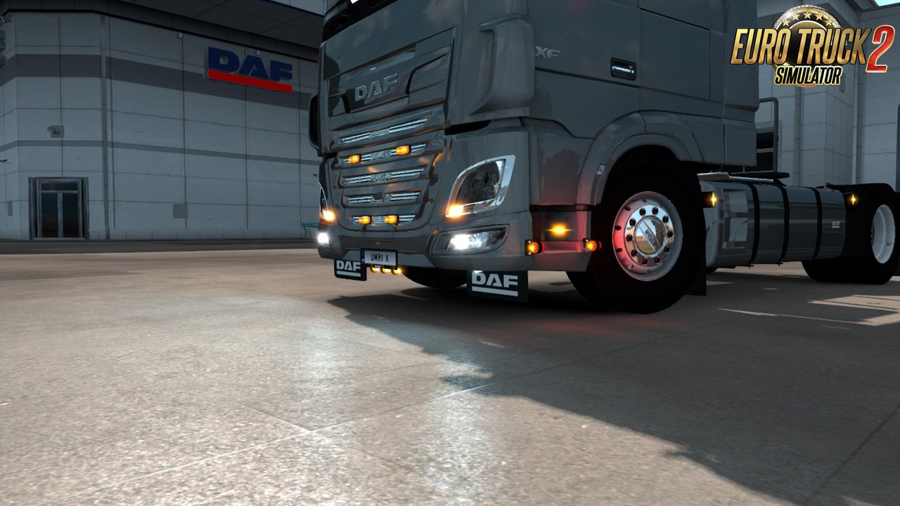 Addons for Schumi's Daf XF106 v2 [1.35.x]