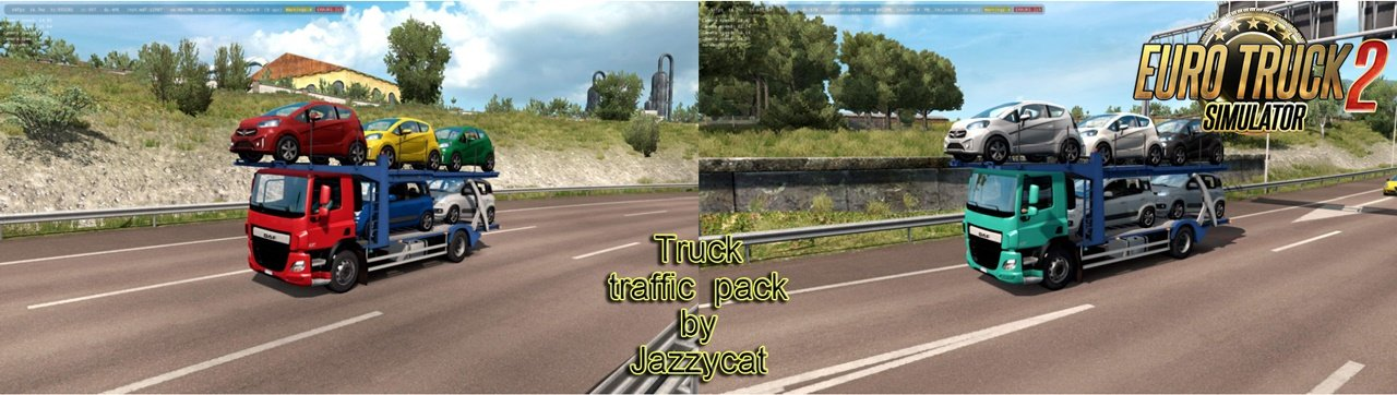Truck Traffic Pack v3.6 by Jazzycat (1.35.x)