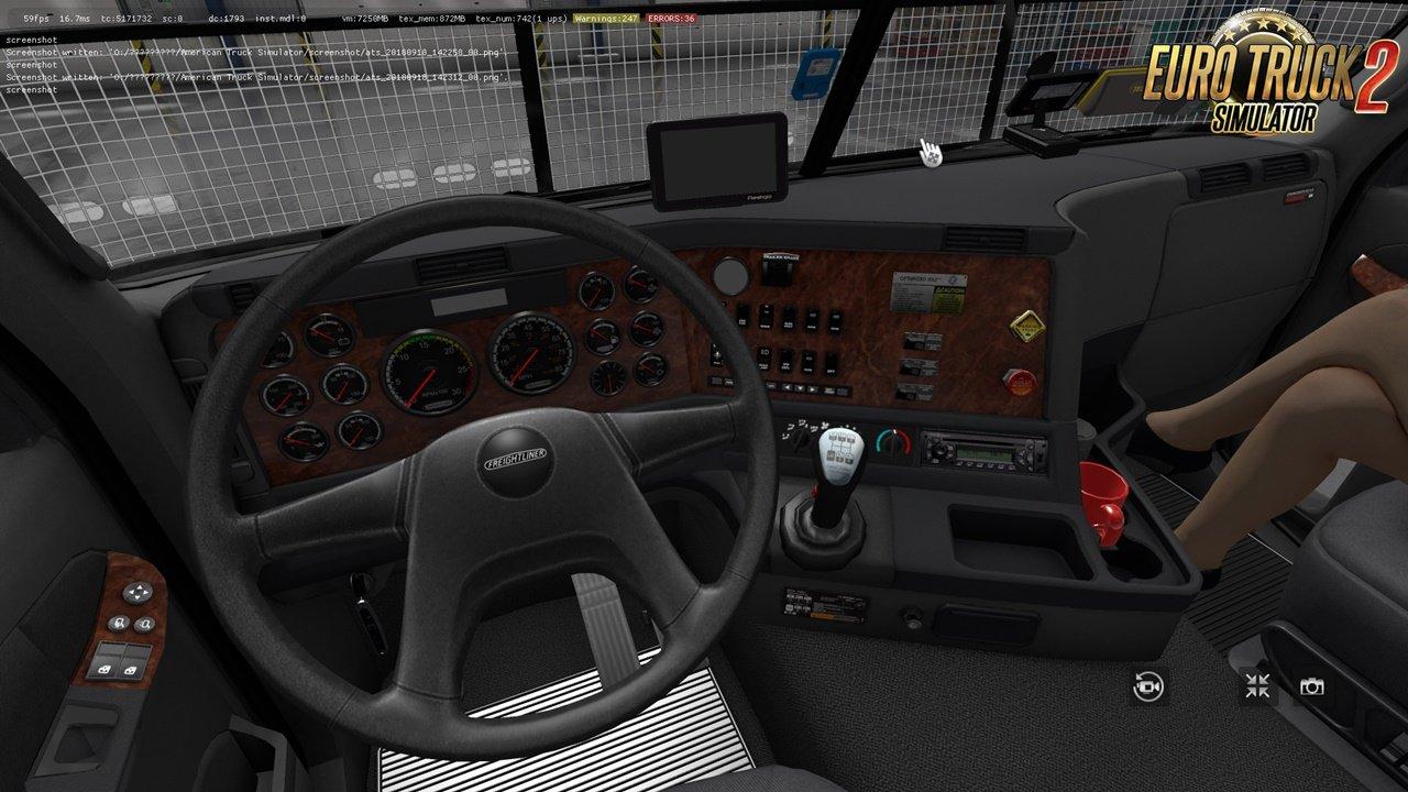 Freightliner Argosy v2.4 for Ets2 [1.35.x]