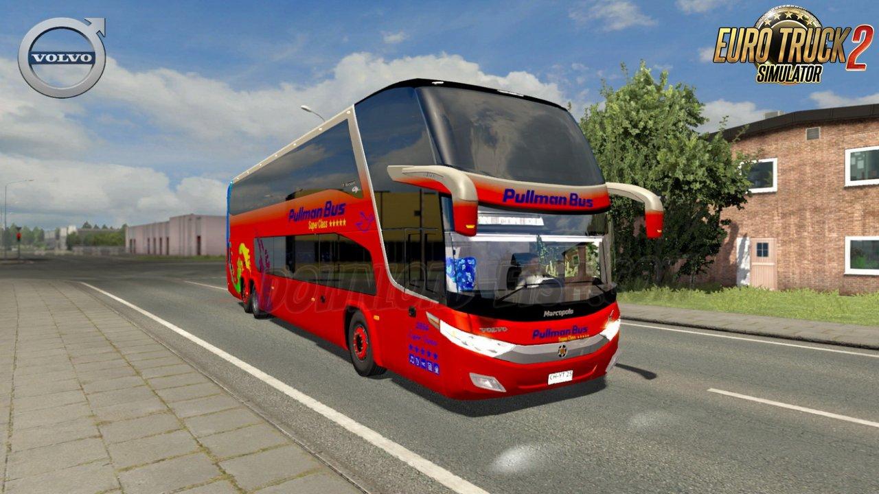 Bus Volvo G7 1800DD 6x2 + Passengers Mod v1.0 (1.35.x)