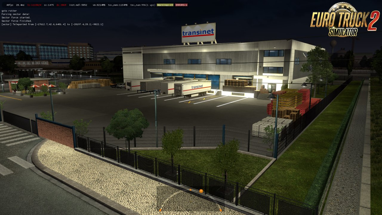 New Prefabs of Companies in Ets2 [1.35.x]