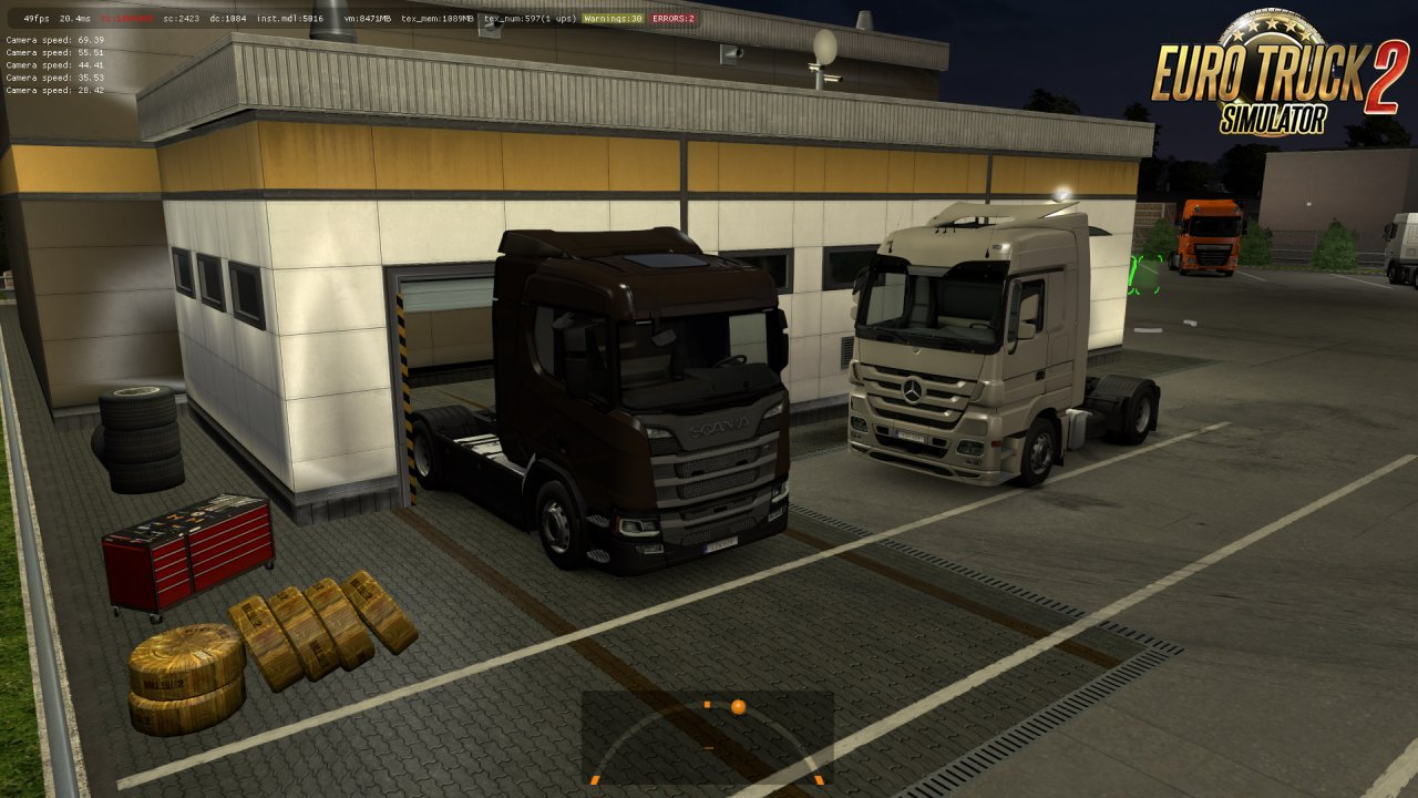 New Prefabs of Companies, Garages and Service v2.0 [1.35.x]