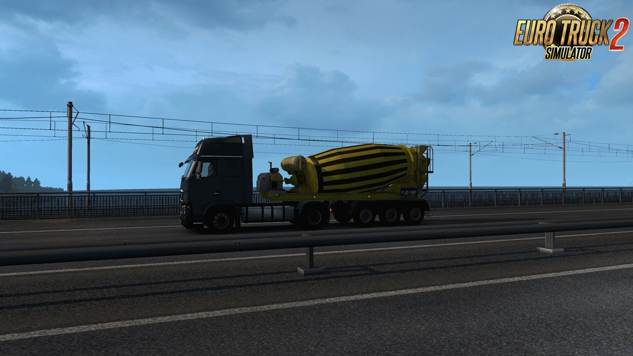 Multiple Trailers in Traffic v5.0 for Ets2