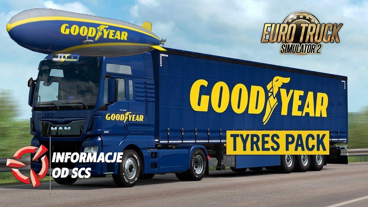 Goodyear Tyres Pack DLC - Euro Truck Simulator 2