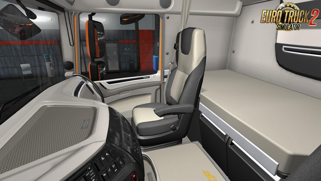DAF E6 Lux Interior for Ets2