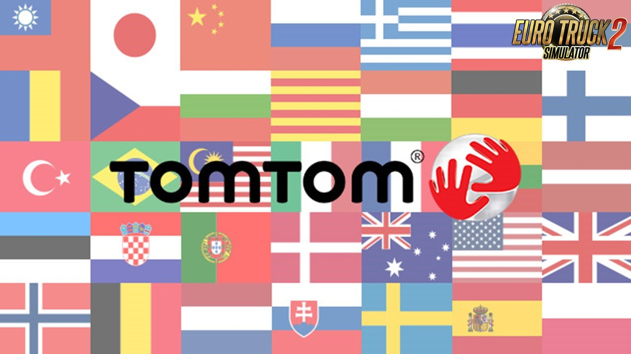 TomTom 57 voices pack for Ats and Ets2