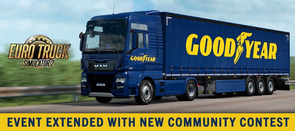 Goodyear event extended with community contest!