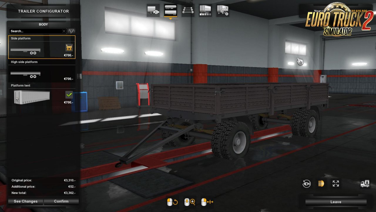 ODaZ GKB pack trailers ownable v1.0 for Ets2