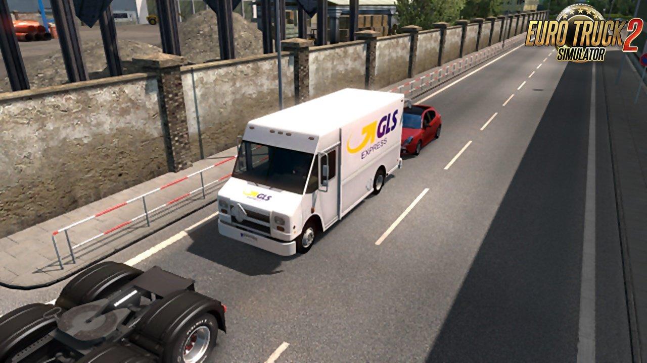 Ai package Van Pack v1.0 for Ets2