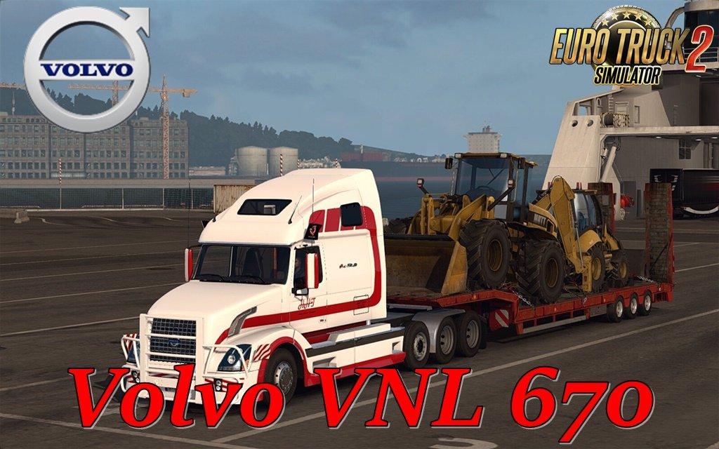 Volvo VNL 670 v1.6.3 by Aradeth (1.36.x) for ETS 2