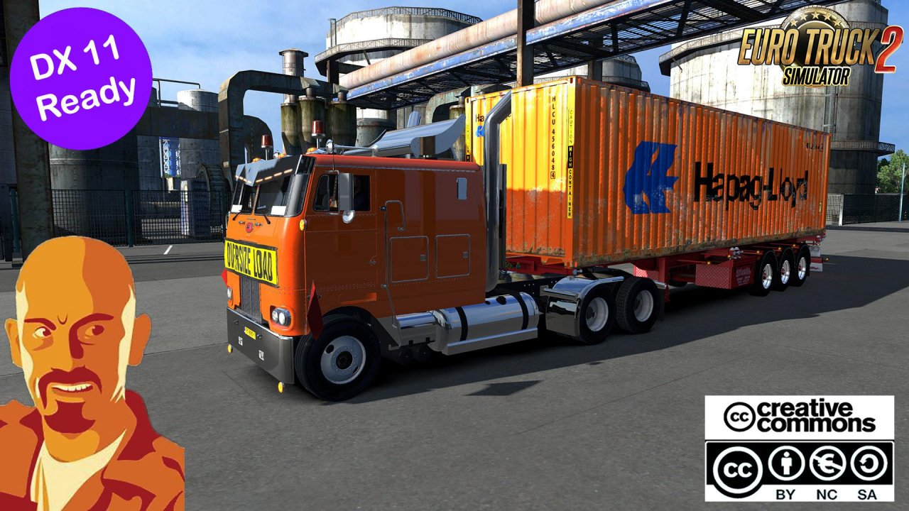 PETERBILT 352 + Interior v1.0 Reworked by CyrusTheVirus (1.35.x)