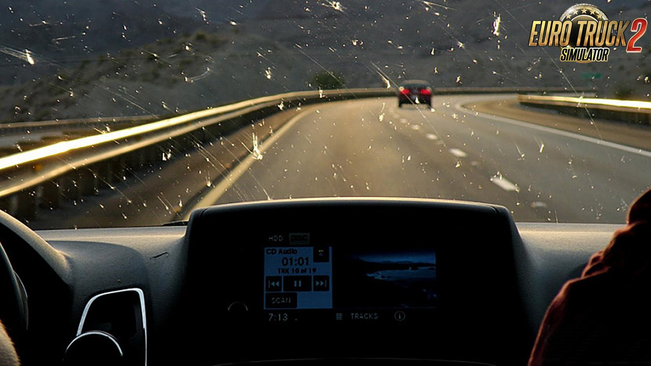 Insects on Windshield v1.1 for Ets2