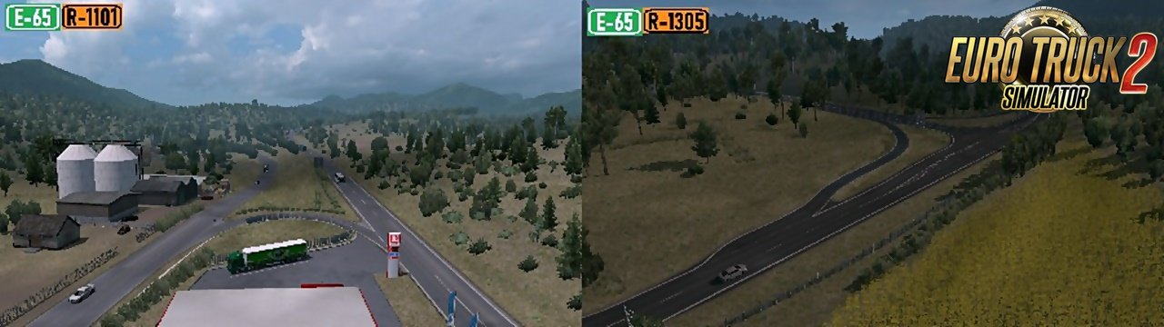 Macedonia Rework v1.1 for ProMods v2.41 (1.35.x)