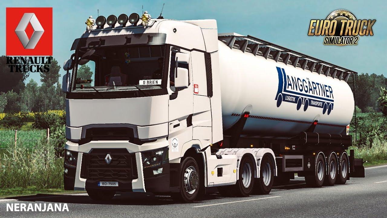 Renault Range T by RTA Team (1.35.x) - Euro Truck Simulator 2