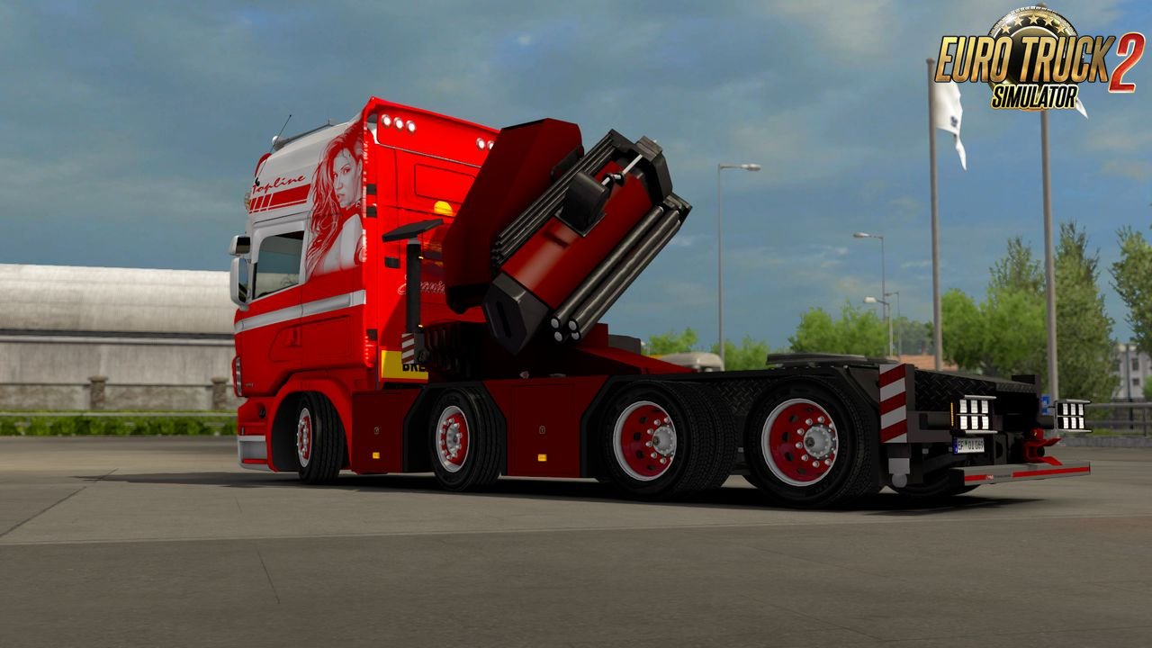 Scania RJL Crane Addon v1 for Ets2