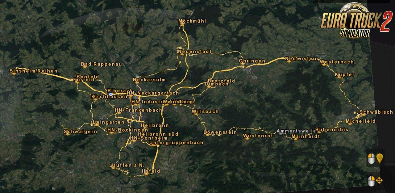 Regional Map Project: Heilbronn 1:1 v1.0.9 [1.36.x]