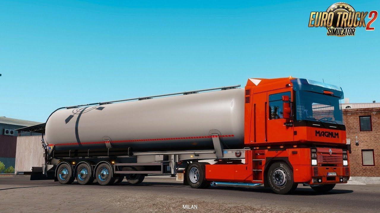 Renault Integral by CyrusTheVirus (1.35.x) - Euro Truck Simulator 2