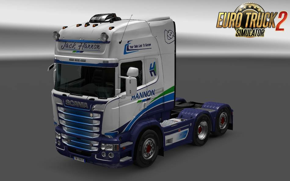 Real Company Skins for Scania RJL [1.35.x]