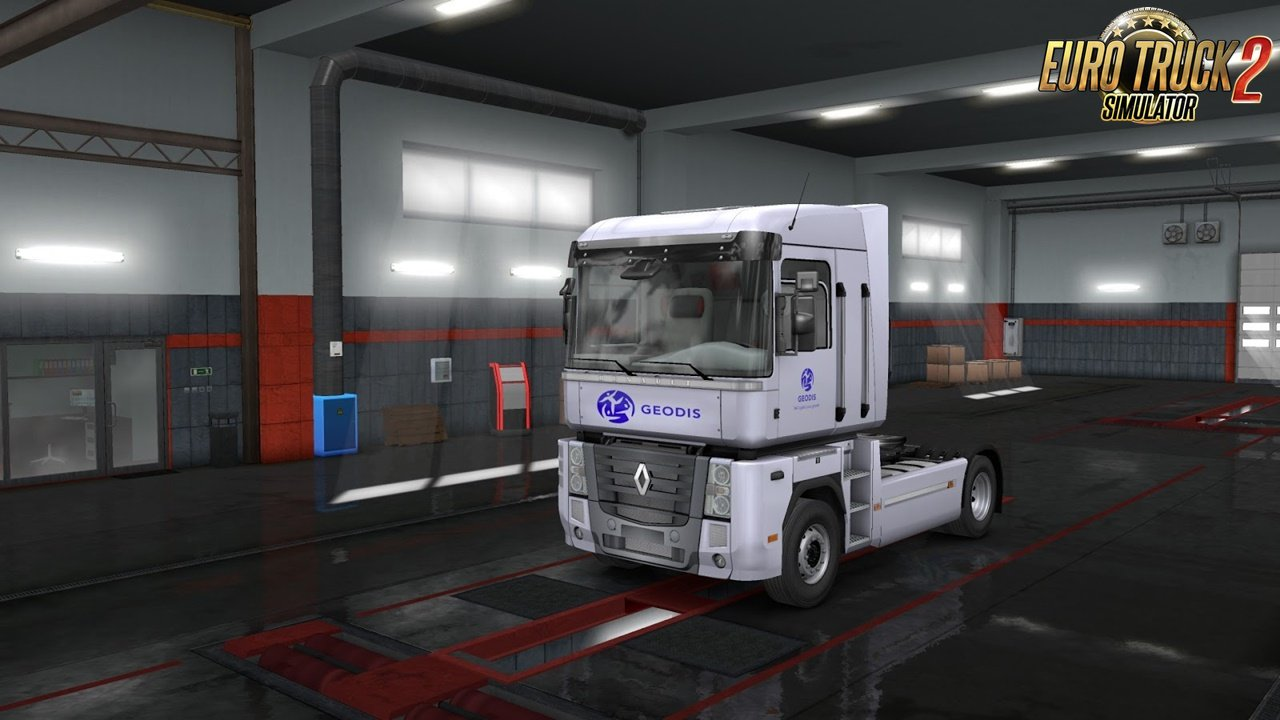 European Logistics Companies Paint Jobs Pack v1.2 for Ets2
