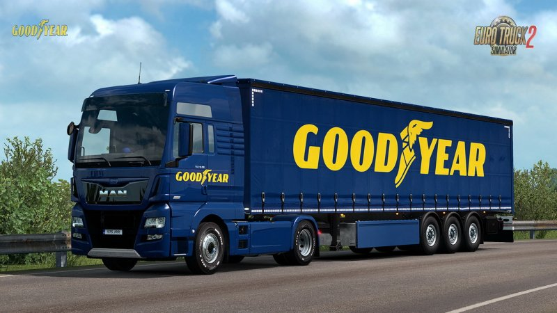 Goodyear Tyres Pack DLC for ETS2