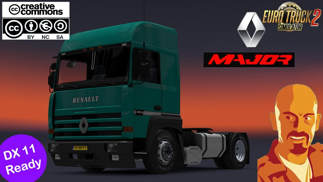 Renault Major edited for Ets2 [1.35.x&DX11]