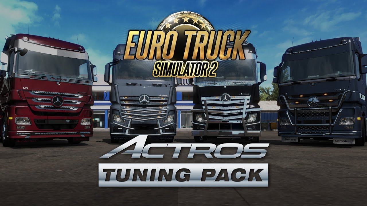 Actros Tuning Pack DLC release | Euro Truck Simulator 2