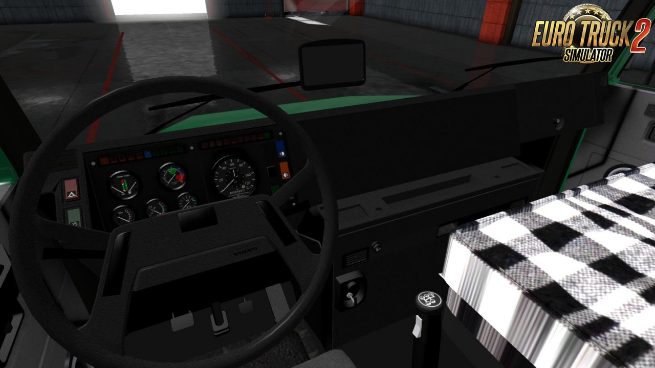 Volvo EDC 340 + Interior for Ets2