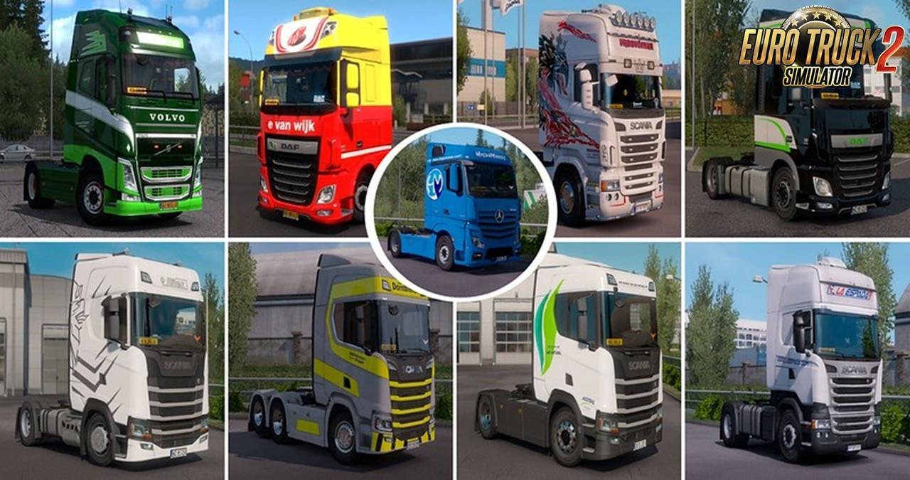 Real Company Truck Skins v1.2 for Ets2