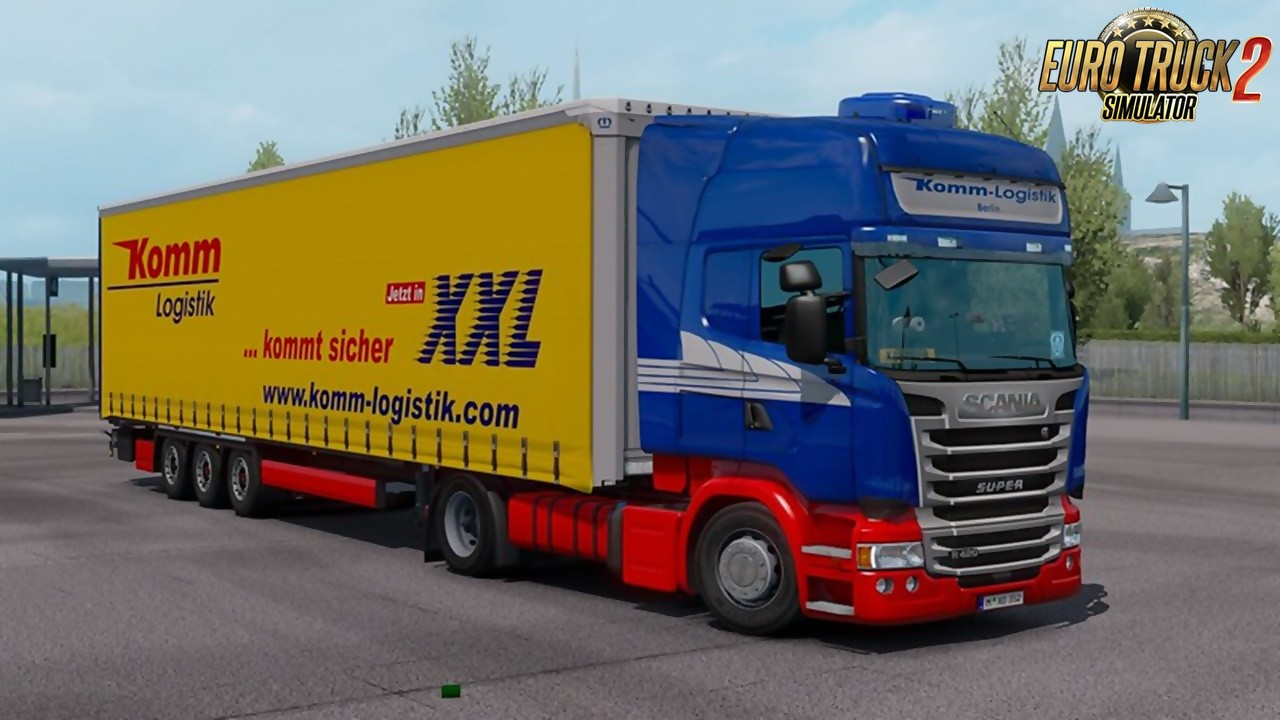 Komm Logistik Skin for Ets2