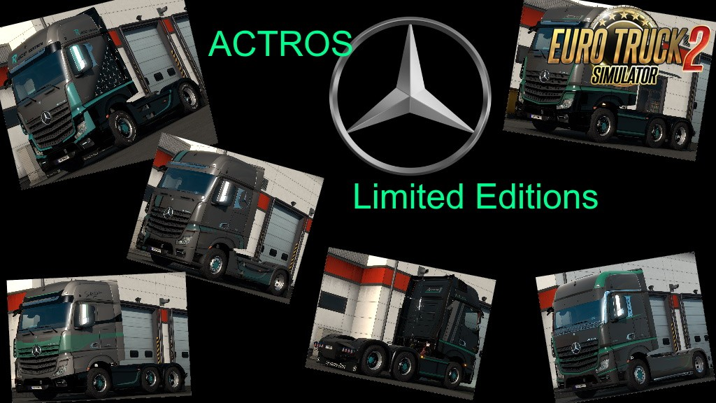 New Actros Limited Editions by Dreamcatcher