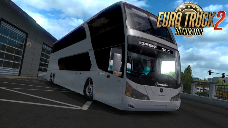 Bus Modasa Zeus II DP 6×2 Scania v1.1 (1.35.x) for ETS2