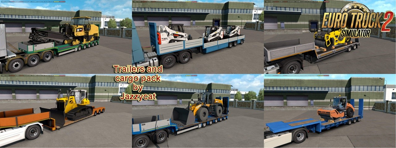 Trailers and Cargo Pack v8.0 by Jazzycat (1.35.x)