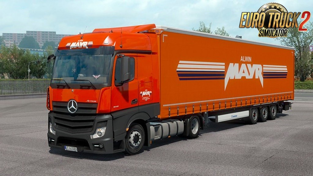 Alwin Mayr Skin for Ets2