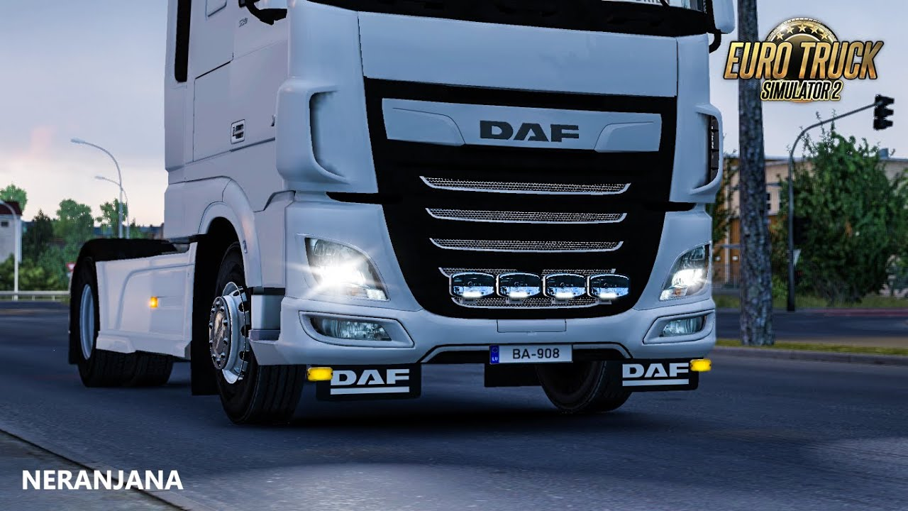 Bottom and Front Slots for DAF XF Euro 6 v1.0 (1.35.x)
