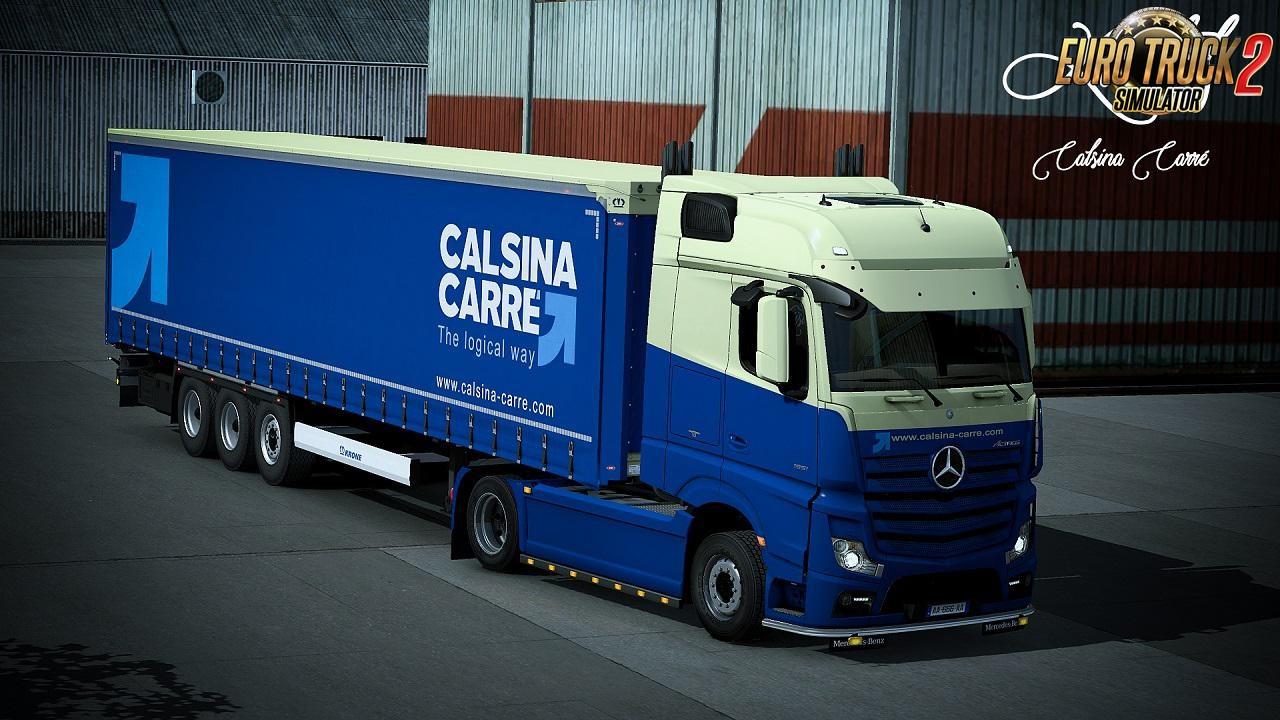 Calsina Carre Skin Mercedes Benz MPIV + Krone Profiliner v1.0