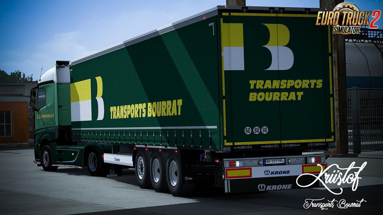 Transports Bourrat Skin for Mercedes MPIV + Krone Profiliner v1.0