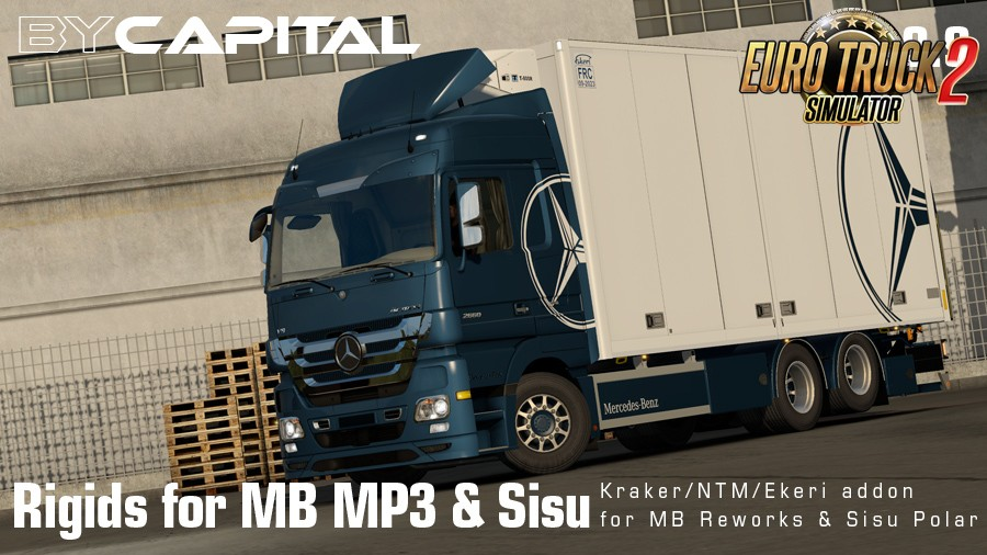 Rigid chassis for MB MP3 & Sisu Polar Mk1 v3.9.9 By Capital [1.35.x]