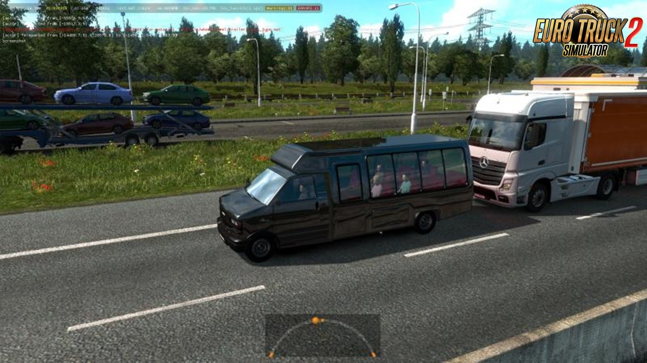 Trucks and Buses from GTA-V to Traffic in Ets2