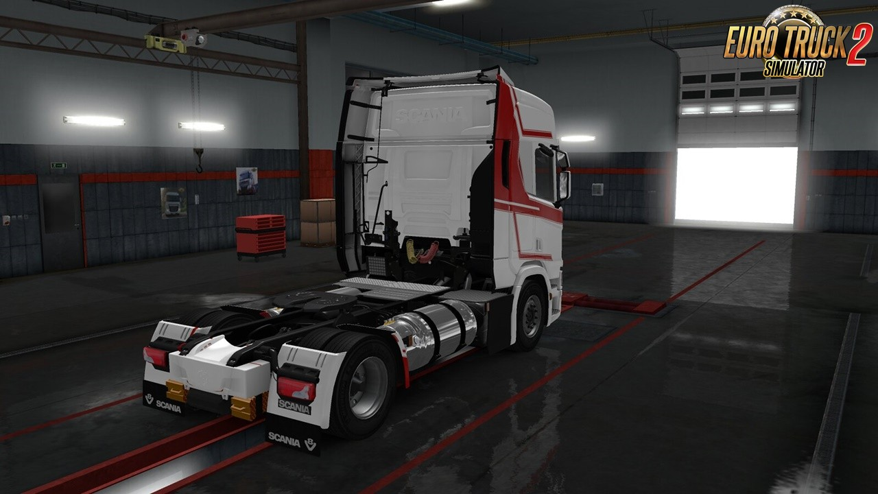 Scania NG-R LNG Tanks for Ets2