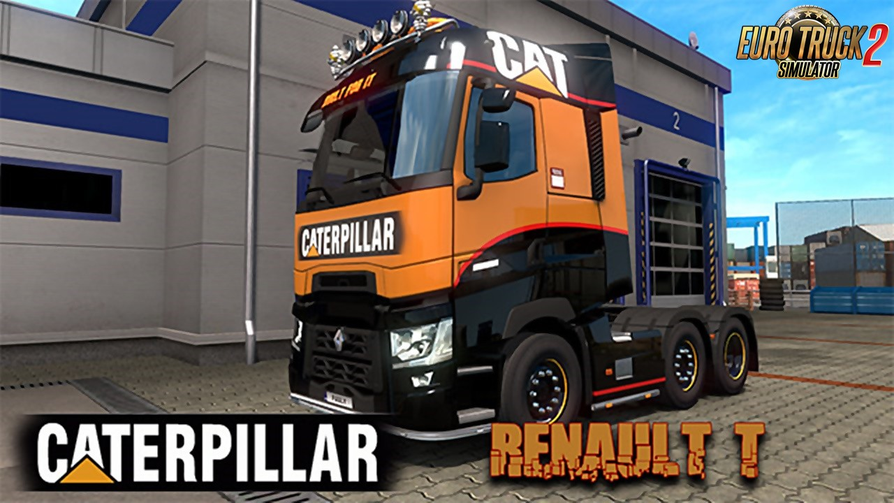 CAT Renault T Skin for Ets2