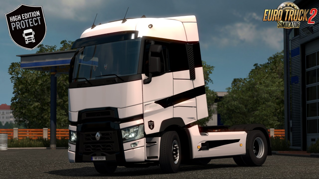 Renault Range T Limited Editions Skins