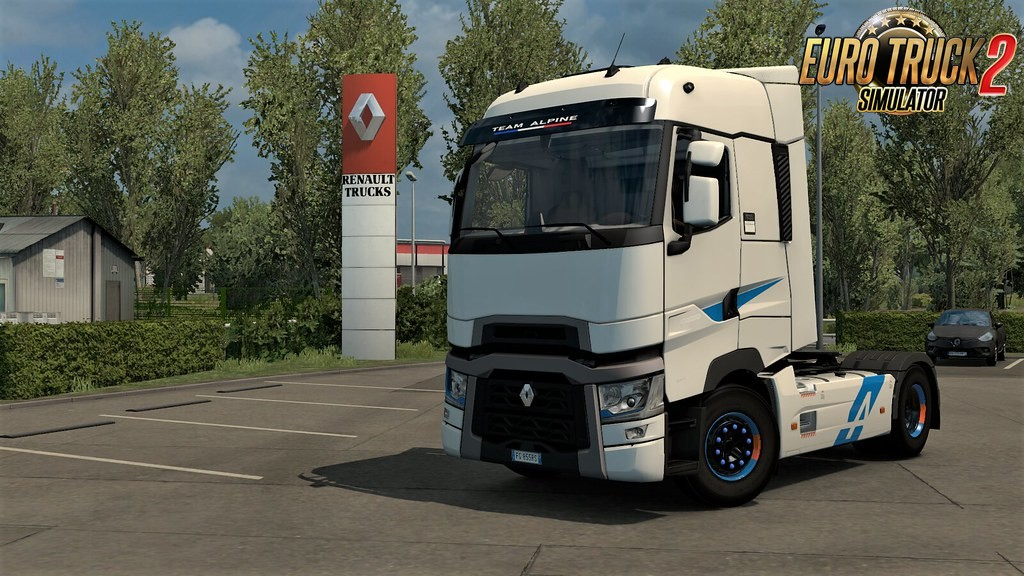 Renault T-High Edition Team Alpine Skin v1.0