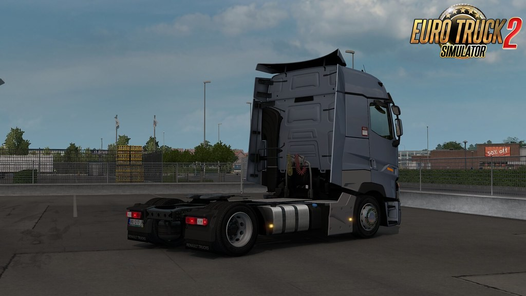Low deck chassis addon for SCS Renault Range T v1.1 by Sogard3
