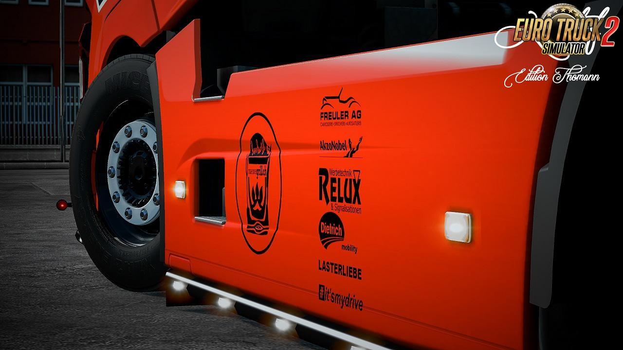 General Lee Skin for Renault T v1.0 by Kriistof (1.35.x)