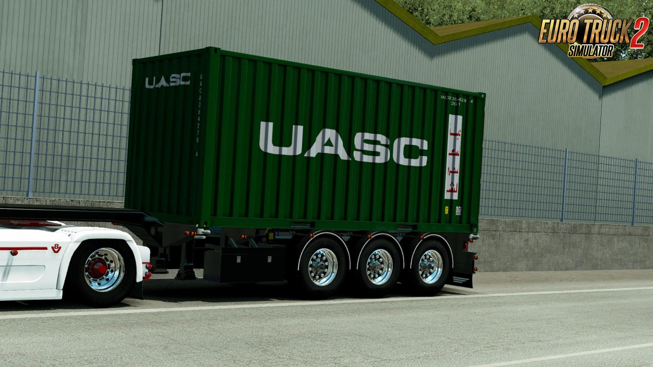 Container Trailer v1.1 by Rhino3D