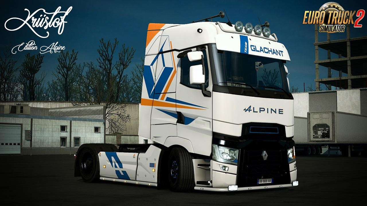 Alpine Glachant Skin for Renault Range T v1.0 (1.35.x)