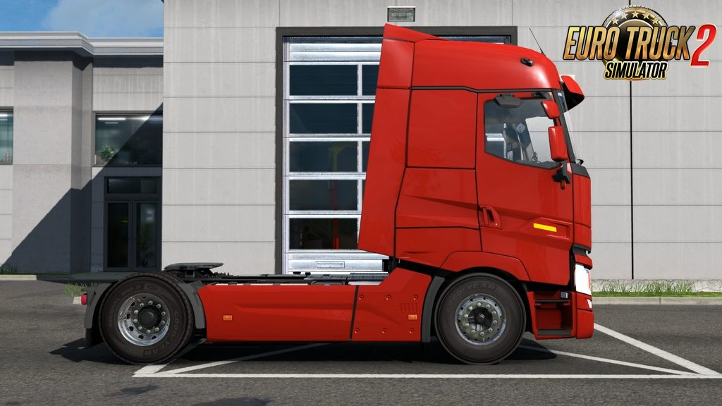 A bit lowered Renault T chassis for Ets2